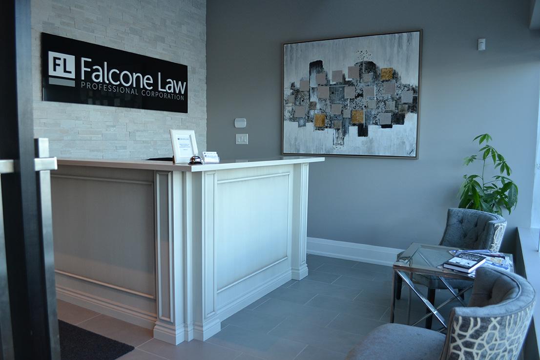 Falcone Law office reception
